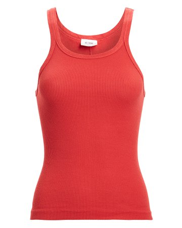 RE/DONE | Ribbed Cotton Tank | INTERMIX®