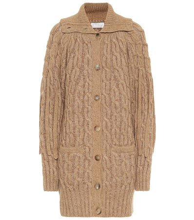 Cable-Knit Cardigan | Chloé - Mytheresa