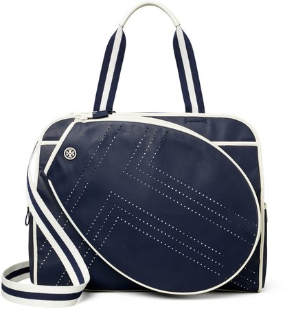 Convertible Perforated-T Tennis Tote