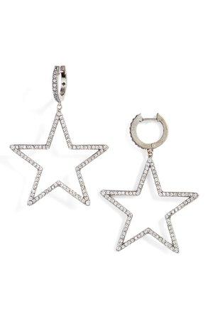 kate spade new york seeing stars star drop earrings