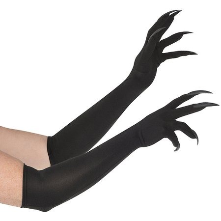 Adult Long Cat Claw Gloves   Party City