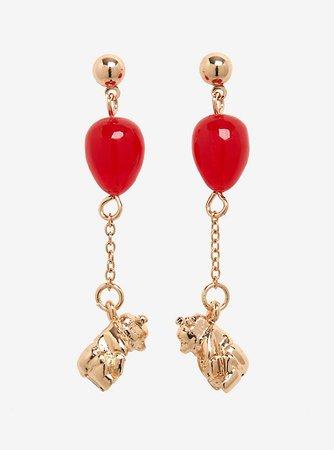 Disney Winnie The Pooh Balloon Resin Earrings