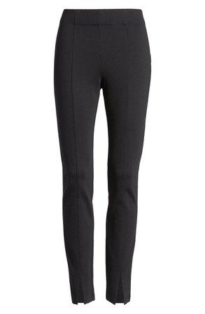 Halogen® Notched Cuff Ponte Knit Pants   Nordstrom