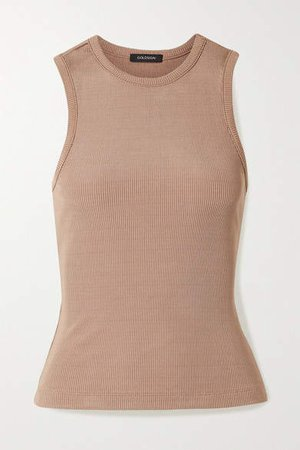 Net Sustain Nineties Ribbed Stretch-jersey Tank