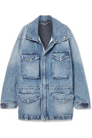 Unravel Project   Oversized cutout denim jacket   NET-A-PORTER.COM