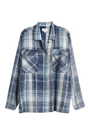 BP. Oversized Plaid Shirt | Nordstrom
