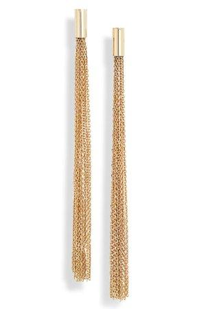 Bony Levy Long Fringe Earrings (Nordstrom Exclusive)   Nordstrom