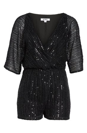 BB Dakota Sequin Mesh Romper | Nordstrom