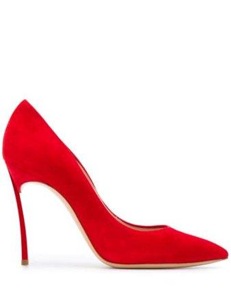 Casadei Decollete Blade pumps red 1F161D100HHCMSC - Farfetch