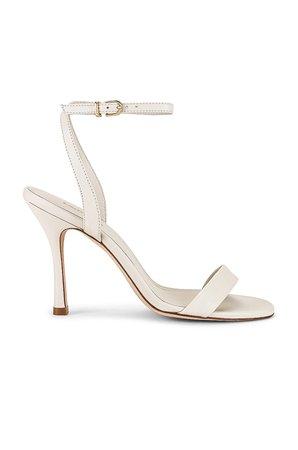 Larroude The Nyx Heel in Ivory | REVOLVE