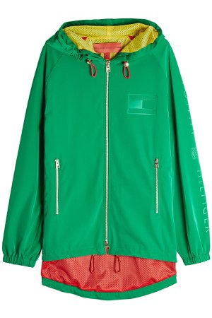 Crest Zipped Jacket with Hood Gr. XS