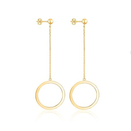 Toysbytsoy gold earrings