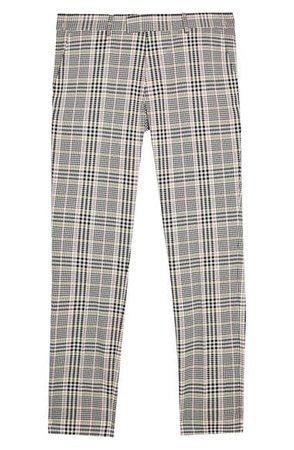 Topman Check Skinny Trousers | Nordstrom