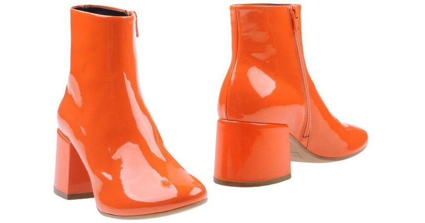 orange boots - Google Search