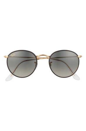 Ray-Ban Crystal Phantos 50mm Gradient Round Sunglasses | Nordstrom