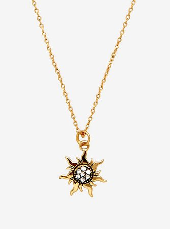 Rapunzel Sun Necklace