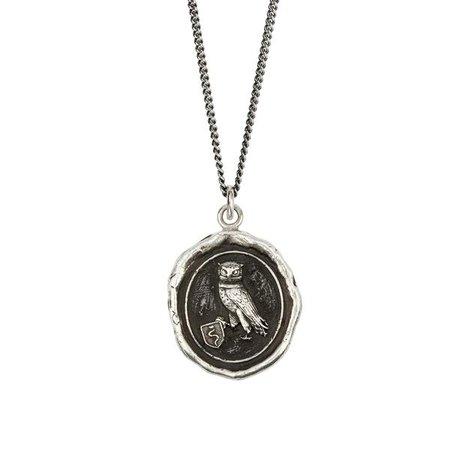 The Owl Kinship Talisman Necklace - Pyrrha