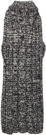Dolce & Gabbana Oversized Crochet-Knit Dress