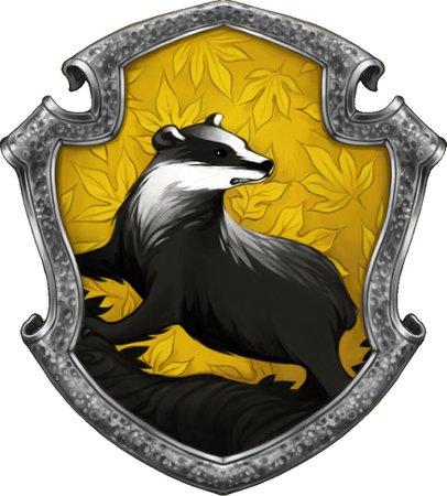 Hufflepuff house crest
