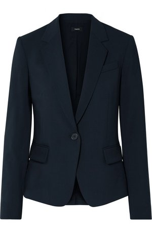 Theory | Gabe stretch-wool blazer | NET-A-PORTER.COM