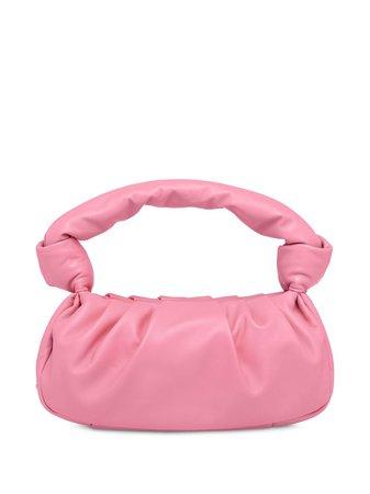 Miu Miu Knotted Detail Tote Bag Ss20   Farfetch.com