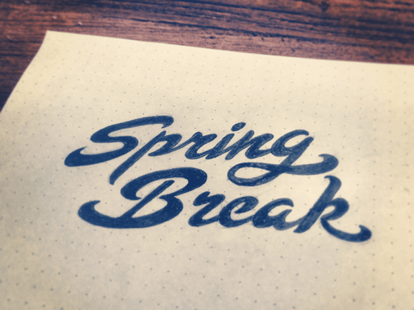 Spring Break by Octopus | Dribbble | Dribbble