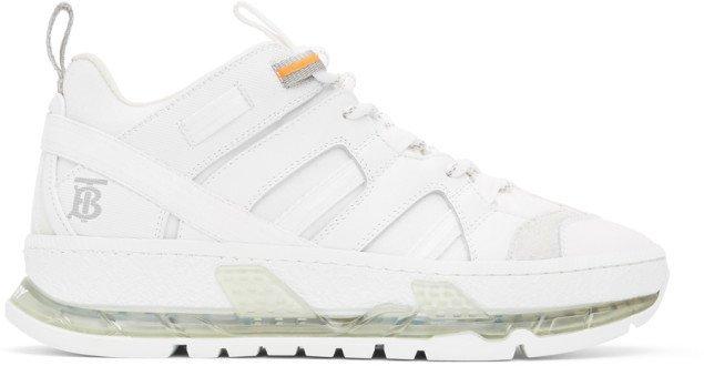 White Nubuck Union Sneakers