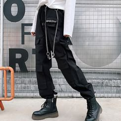 Buy Paila Side Pocket Cargo Pants | YesStyle