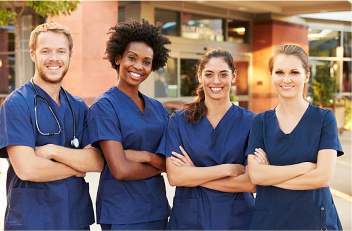 photo 4 nurses