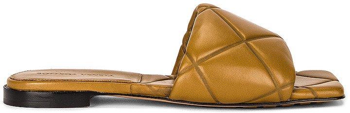 Rubber Lido Sandals in Acorn | FWRD
