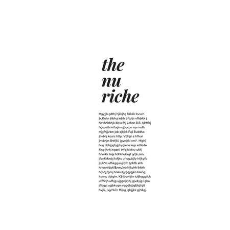 the nu riche