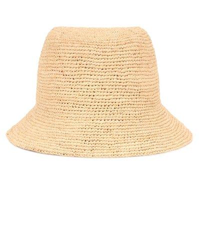 Raffia Bucket Hat | Gucci - Mytheresa