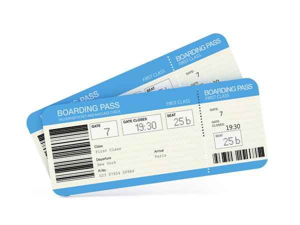 airport tickets