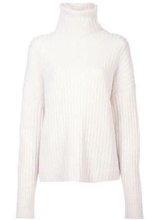 RE/DONE Chunky Rib Turtleneck Sweater