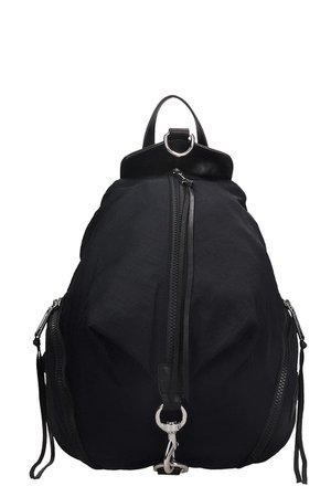 Rebecca Minkoff Julian Backpack In Black Nylon