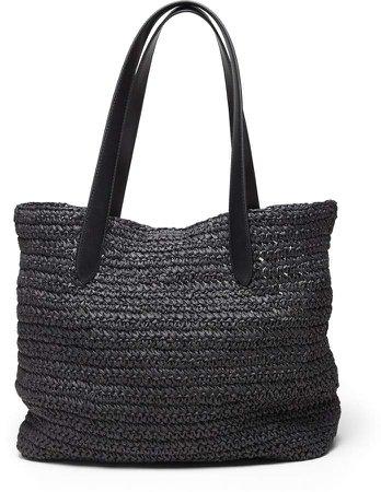 Straw Beach Tote Bag