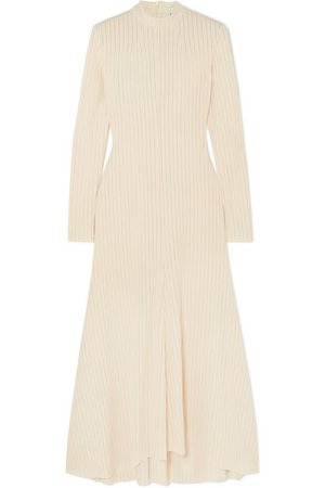 A.W.A.K.E. MODE | Renton ribbed-knit midi dress | NET-A-PORTER.COM