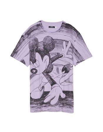 """Mickey gets arty"" T-shirt - null - Bershka United States"