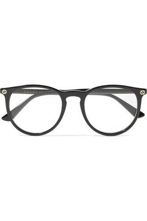 Gucci   Round-frame acetate optical glasses   NET-A-PORTER.COM