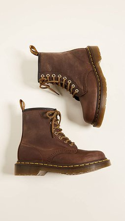 brown dr marten boots
