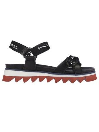 Philippe Model Logo Sandals
