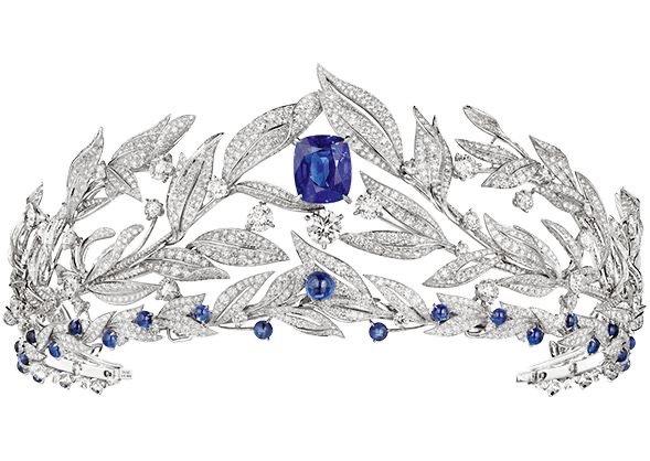 Diamond Sapphire Tiara