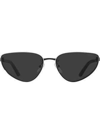 Prada Eyewear Lunettes De Soleil Duple à Monture Papillon - Farfetch