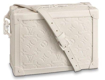 Louis Vuitton Creme soft trunk