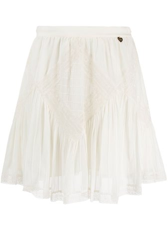 Twin-Set crochet-embellished Mini Skirt - Farfetch