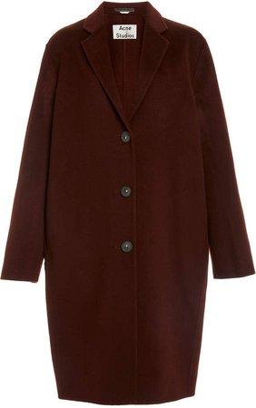 Avalon Double Oversized Wool Coat