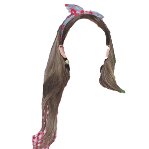 BROWN HAIR PNG HEADBAND