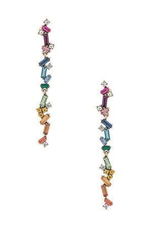 8 Other Reasons Rainbow Duster Earrings in Multi   REVOLVE