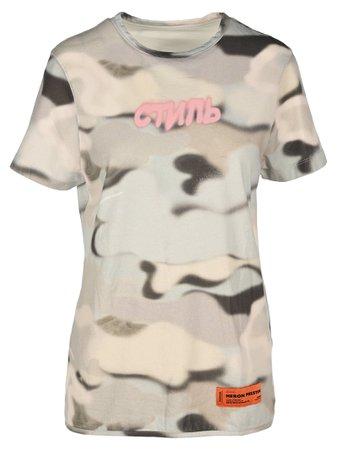 Heron Preston Camo T-shirt