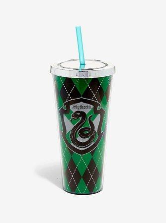Harry Potter Slytherin Foil Acrylic Travel Cup